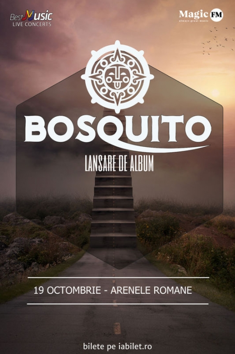 Concert lansare album nou Bosquito la Arenele Romane