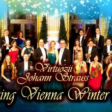 "Farmec de sarbatoare in compania orchestrei de camera din Viena ""Virtuozii Johann Strauss"""