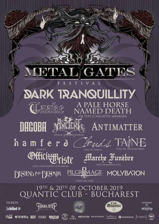 Metal Gates Festival 2019 – Programul pe zile