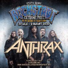 ANTHRAX vine la Rockstadt Extreme Fest 2020