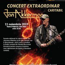 Concert caritabil sustinut de Jan Akkerman cu ocazia galei Corneliu Coposu, editia a IV-a, 2019