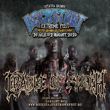 Cradle of Filth la REF 2020