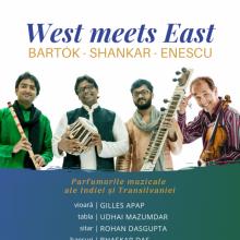 Parfumurile Indiei și Transilvaniei: Turneul West meets East 2019