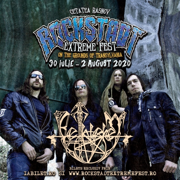 BETHLEHEM [Experimental Black Doom] [Germania] vin la Rockstadt Extreme Fest 2020
