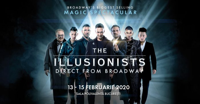 Cei mai mari iluzioniști din lume în premieră la București: The Illusionists, în februarie la Sala Polivalentă