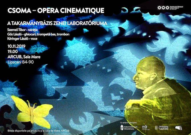 "Concert ""CSOMA – Opéra Cinematique"" la ARCUB"