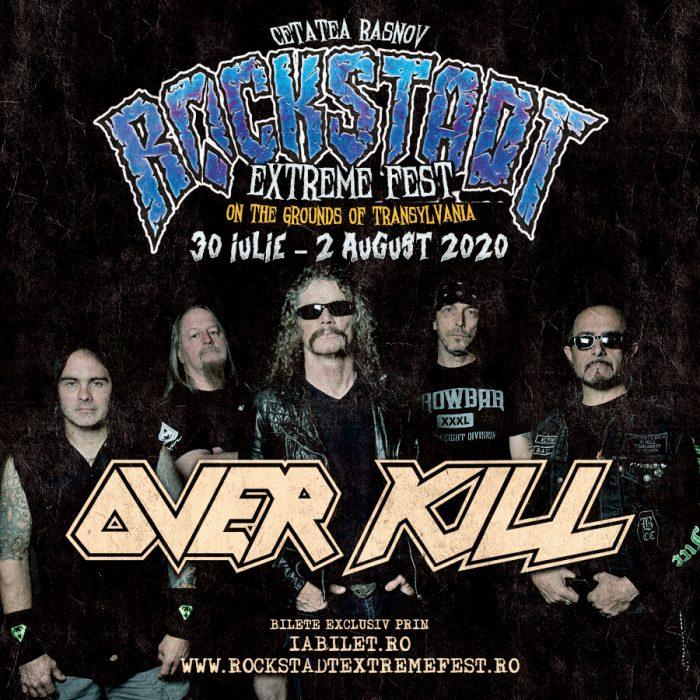 Overkill la Rockstadt Extreme Fest 2020