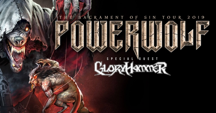 Powerwolf si Gloryhammer vor sustine un concert la Arenele Romane din Bucuresti