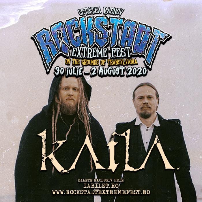 Trupa Katla. este confirmată la Rockstadt Extreme Fest 2020