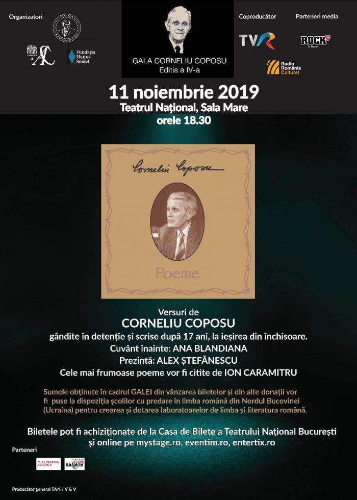 """Un volum de versuri de Corneliu Coposu va fi lansat cu ocazia """"Galei Corneliu Coposu, editia a VI-a"""""""