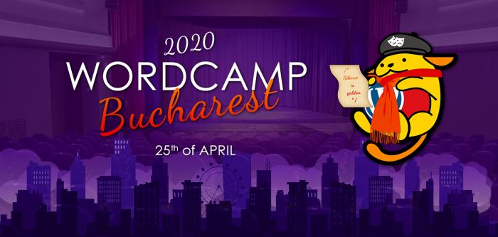 WordCamp București 2020, a patra conferinta anuala de WordPress