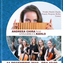 "Concert de Crăciun – ""Iarna"" la Sala Radio"