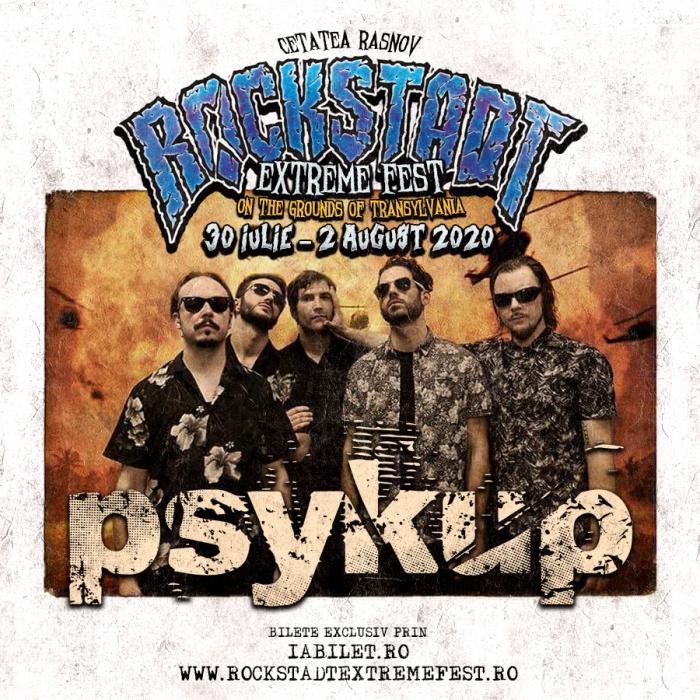Psykup este noul nume confirmat la Rockstadt Extreme Fest 2020
