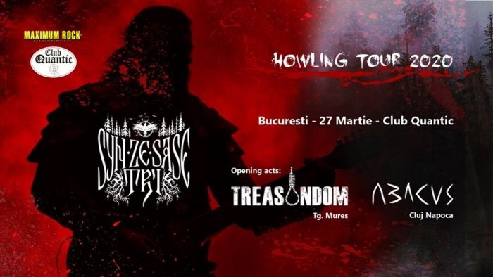 Concert Syn Ze Șase Tri, Abacus si Treasondom in club Quantic