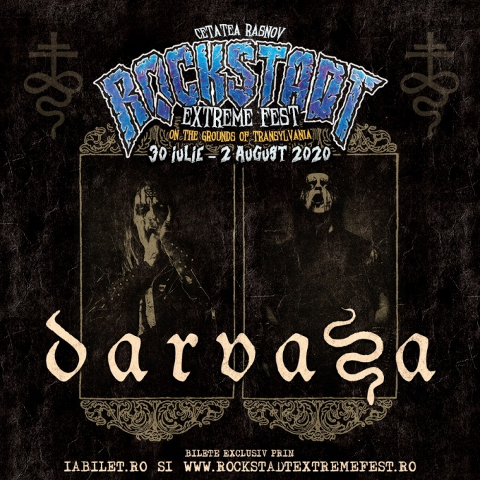 DARVAZA [Black Metal] [Italia] vine la Rockstadt Extreme Fest 2020
