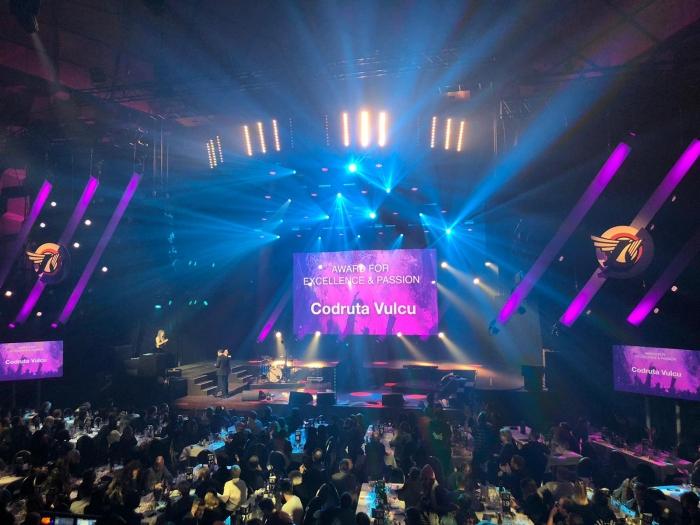"""Premiera pentru Romania: Codruta Vulcu a fost desemnata castigatoarea categoriei """"The Award for Excellence and Passion"""" in cadrul competitiei European Festival Awards"""