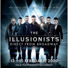 Spectacolul The Illusionists la Sala Polivalentă