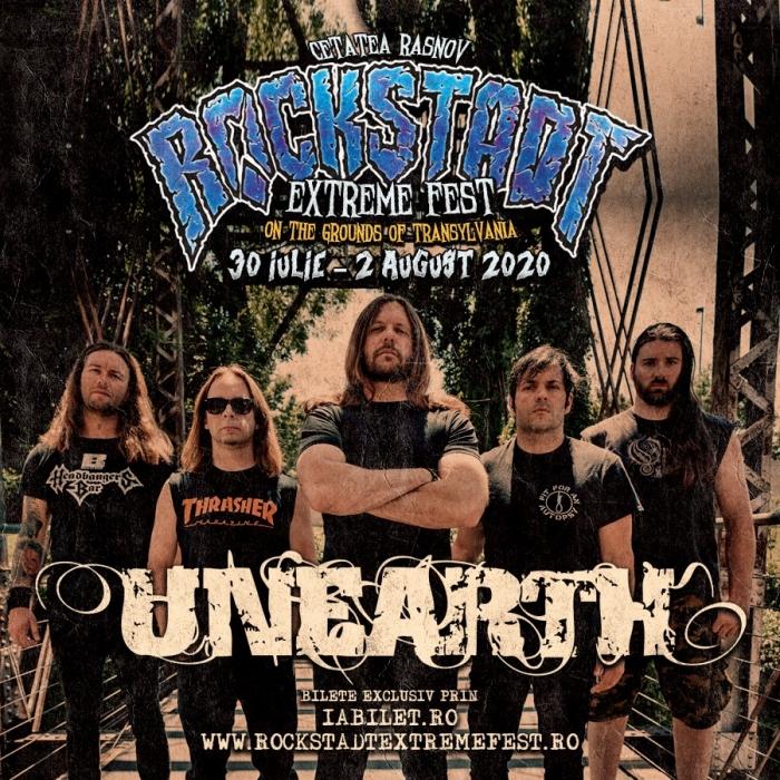 Trupa Unearth revine la Rockstadt Extreme Fest