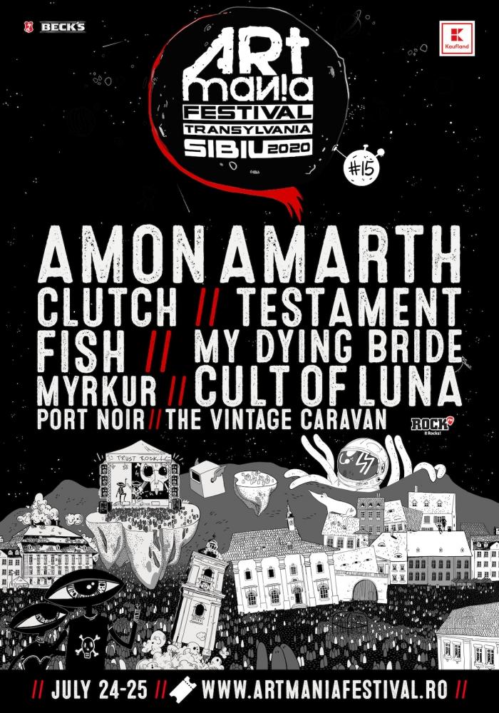 Al doilea val de artisti confirmati la ARTmania Festival 2020: Fish, Port Noir si Testament