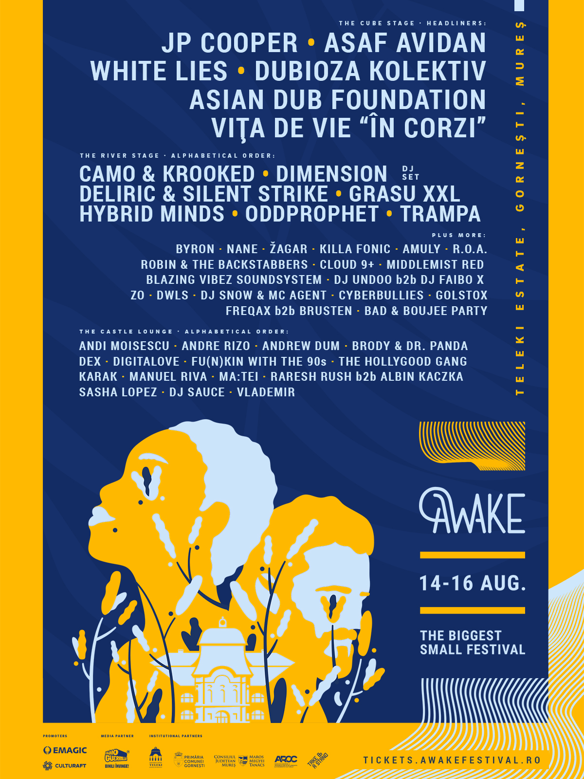 Asaf Avidan și White Lies confirmați la AWAKE Festival 2020