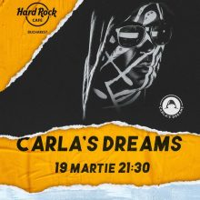 Concert Carla's Dreams la Hard Rock Cafe din Bucuresti