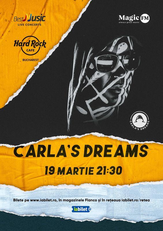 Concert Carla's Dreams la Hard Rock Cafe din Bucuresti