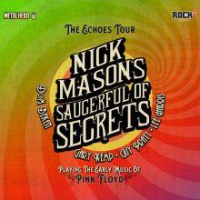 Concert Nick Mason's Saucerful Of Secrets la Arenele Romane din Bucuresti