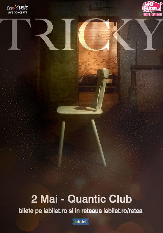 Concert Tricky in Club Quantic din Bucuresti