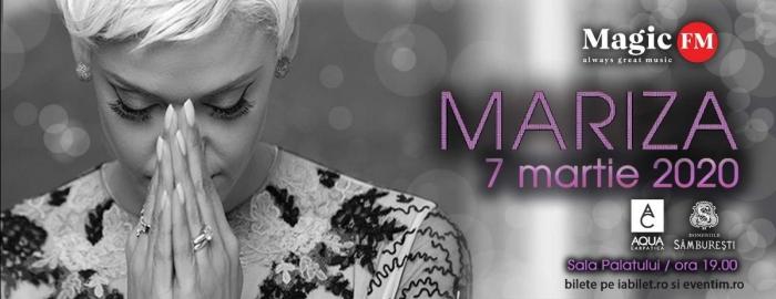 MARIZA va fi acompaniata de cinci instrumentisti valorosi