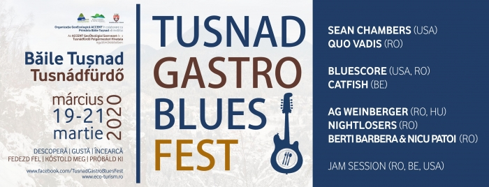 Tușnad Gastro Blues Festival – program, trupe și pensiuni participante