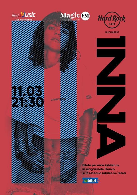 Concert INNA – special exclusive show la Hard Rock Cafe