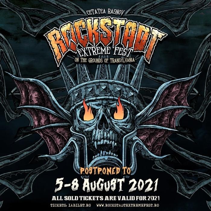 Rockstadt Extreme Fest 2021 – Editia 2020 se reprogrameaza