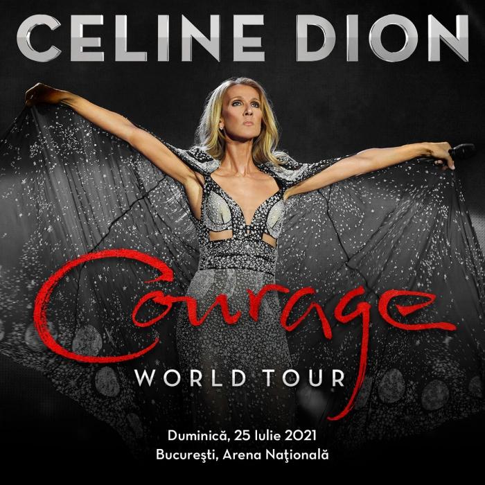 Concertul Celine Dion se reprogrameaza pe 25 iulie 2021