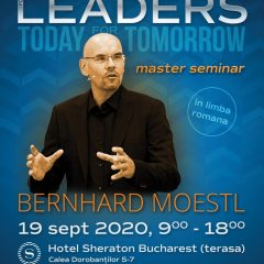 Public Speaking for Leaders – Master Seminar cu Bernhard Moestl