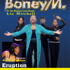 Concertul Boney M a fost reprogramat pentru data de 28 februarie 2020