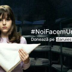 """O nouă campanie Dăruieşte Viaţă – #NoiFacemUnSpital – Recrutăm 100.000 de investitori – însoţită de melodia """"The Unforgiven"""", de la Metallica"""