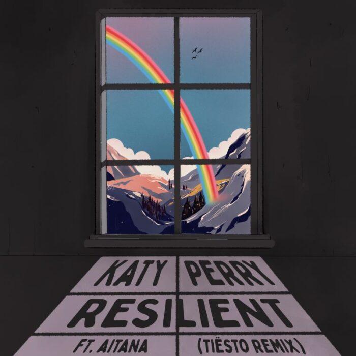 """Katy Perry lanseaza videoclipul noii versiuni a piesei """"Resilient"""", alaturi de Tiesto si Aitana, in colaborare cu brandul Coca Cola"""