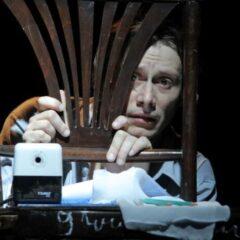 Spectacolul Însemnările unui nebun prezentat în cadrul Festivalului național de teatru 2020