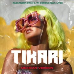 """Alexandra Stan incheie anul cu o noua versiune pentru cel mai recent single, """"Tikari"""", alaturi de artistul mexican, W. Corona"""