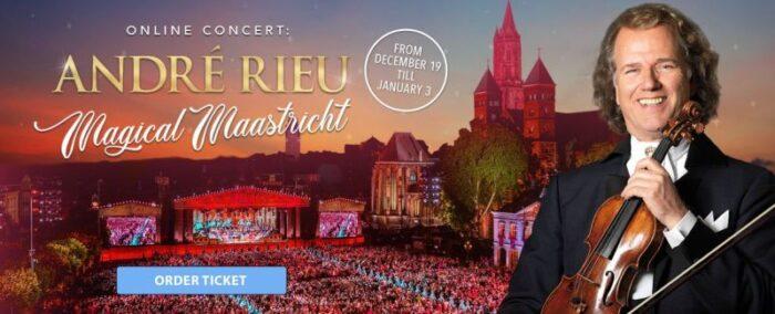 """Comunicat de presă – André Rieu prezintă concertul """"Magical Maastricht"""""""