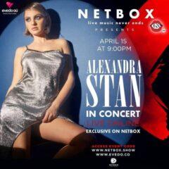 Alexandra Stan, primul concert live după o pauză de un an