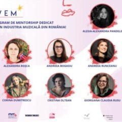 S-au desemnat cele 10 participante ale programului MEWEM- primul program de mentorat dedicat femeilor din industria muzicală din Romania