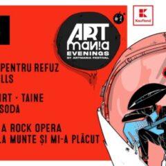 ARTmania Evenings 2021 aduce trupe romanesti pe scena din Quantic