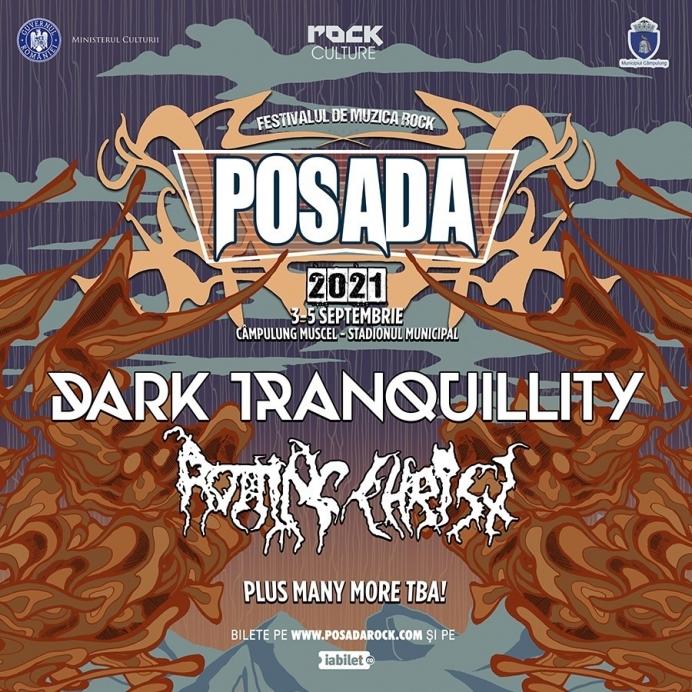 Dark Tranquillity si Rotting Christ sunt primii headlineri anuntati la Posada Rock 2021