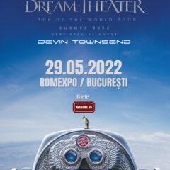 Devin Townsend, invitat special în cadrul turneului Dream Theater, ajunge și la București