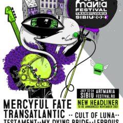 Legendara trupa Mercyful Fate vine la ARTmania Festival 2022 impreuna cu Pain of Salvation, Leprous si Dordeduh
